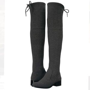 StylebyCharles David Groove Suede Over Knee Boots